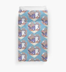 NIBBLE the Hammerhead Shark Duvet Cover