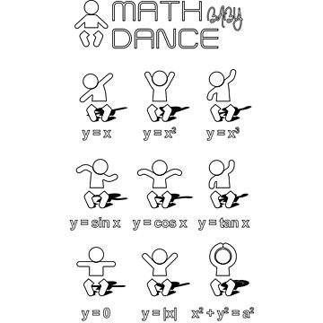 Math dance!... baby edition with shadows by shbubble1