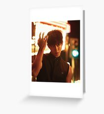 Nam Joo Hyuk Greeting Card