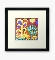 Flower Bug Framed Print