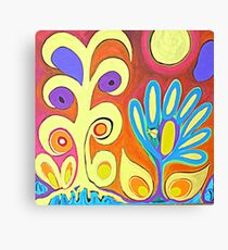 Flower Bug Canvas Print