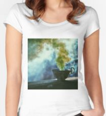 The Mist Women's Fitted Scoop T-Shirt