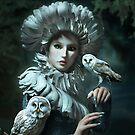 Owls Talk - dedicated to Heather King von Britta Glodde
