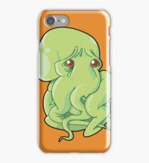 Sad Squid iPhone Case/Skin