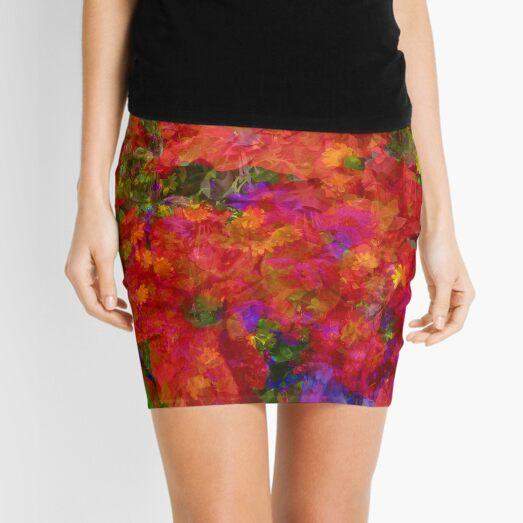 Flower blend Mini Skirt
