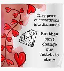 Tears to Diamonds — George Watsky Poster