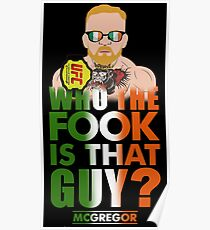 who the fook is that guy Poster
