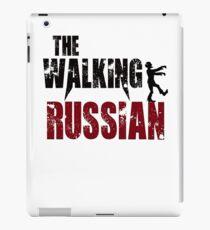Russian walking zombie Russia Moscow gift t shirt iPad Case/Skin