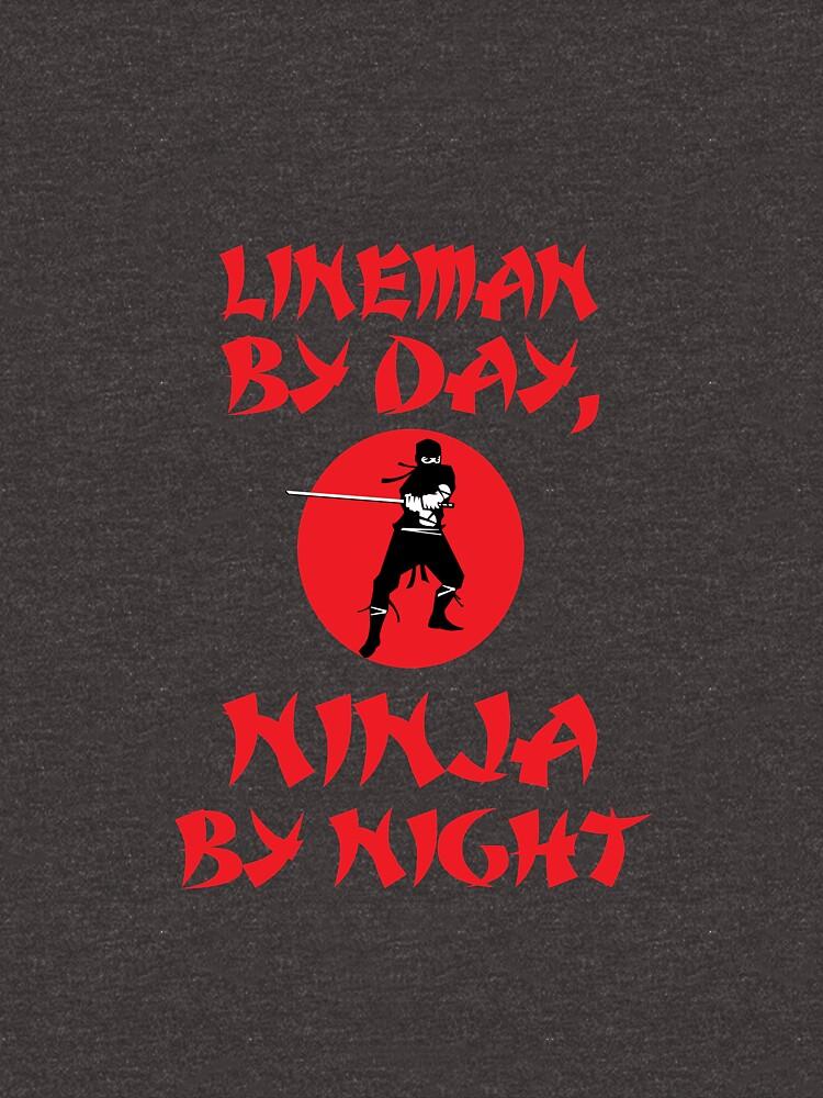 Lineman Day Ninja Night by AlwaysAwesome