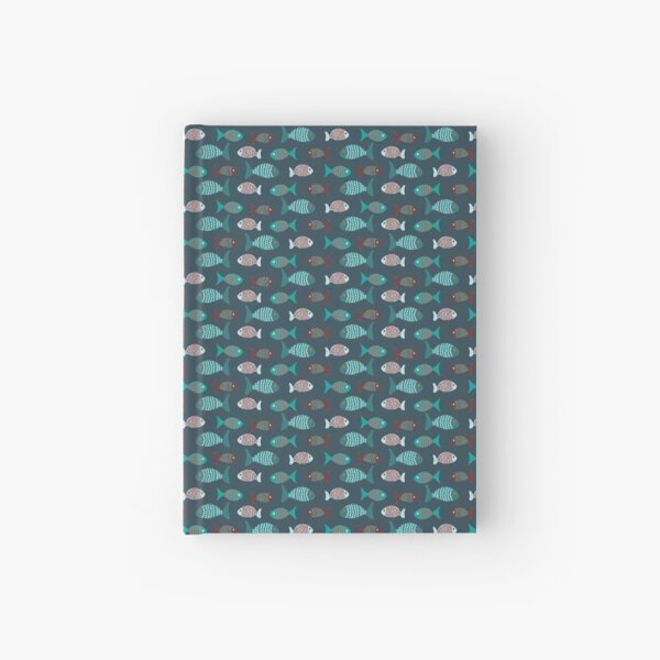 The simple life of a fish flock Hardcover Journal