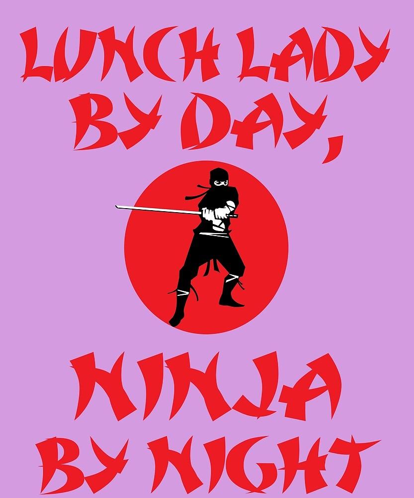 Lunch Lady Day Ninja Night by AlwaysAwesome