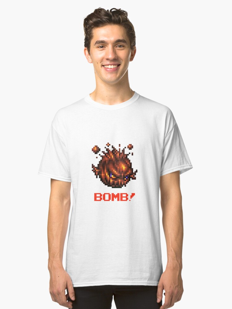 Bomb! : Inspired by Final Fantasy VII Classic T-Shirt Front