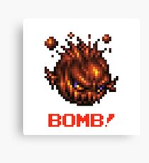 Bomb! : Inspired by Final Fantasy VII Canvas Print