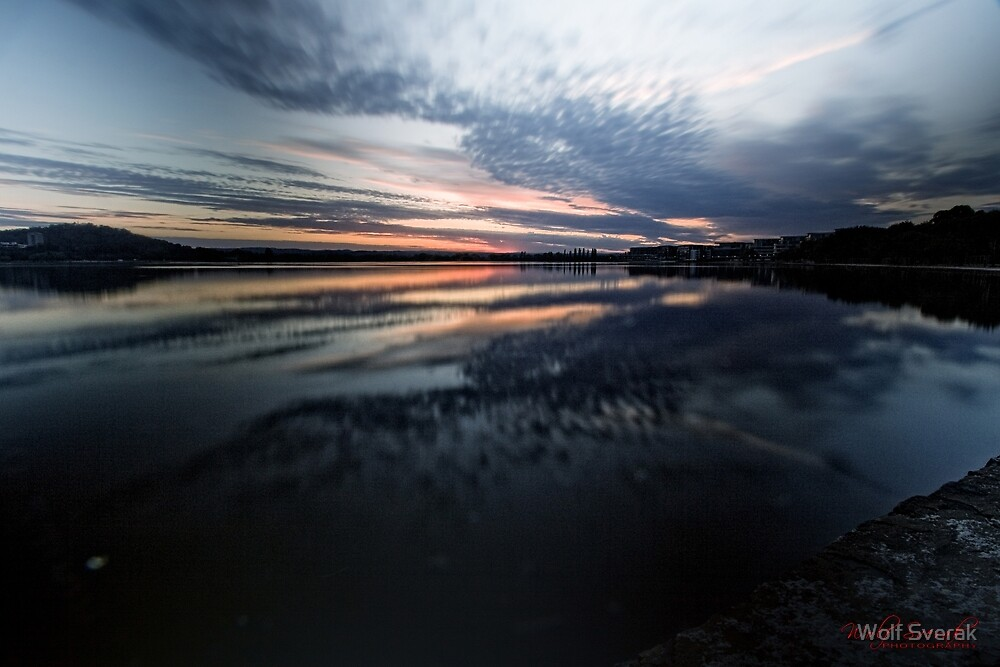 ND Filter Play (shutter 30 sec) at Lake Burley Griffin, Canberra/ACT/Australia (4) by Wolf Sverak