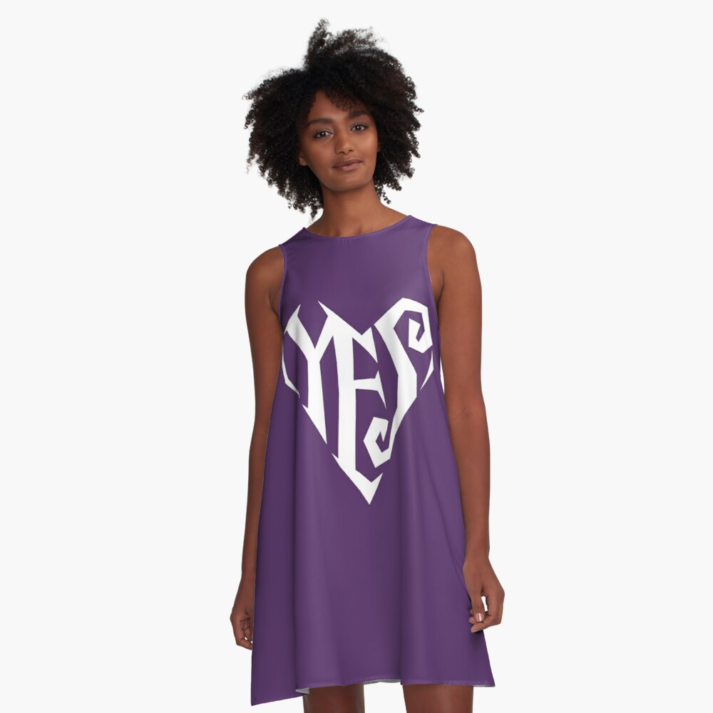 YES (big) A-Line Dress Front