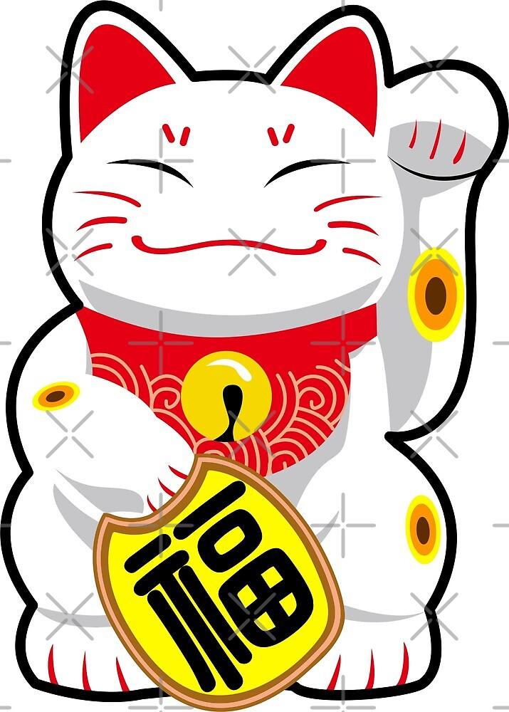 Maneki-neko/Beckoning Cat/Fortune Cat/Lucky Cat - Japanese/Chinese by xEver