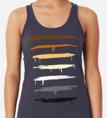 Camiseta con espalda nadadora Colores del orgullo del oso