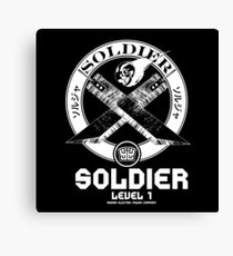 SOLDIER : Inspired by Final Fantasy VII Canvas Print
