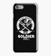 SOLDIER : Inspired by Final Fantasy VII iPhone Case/Skin