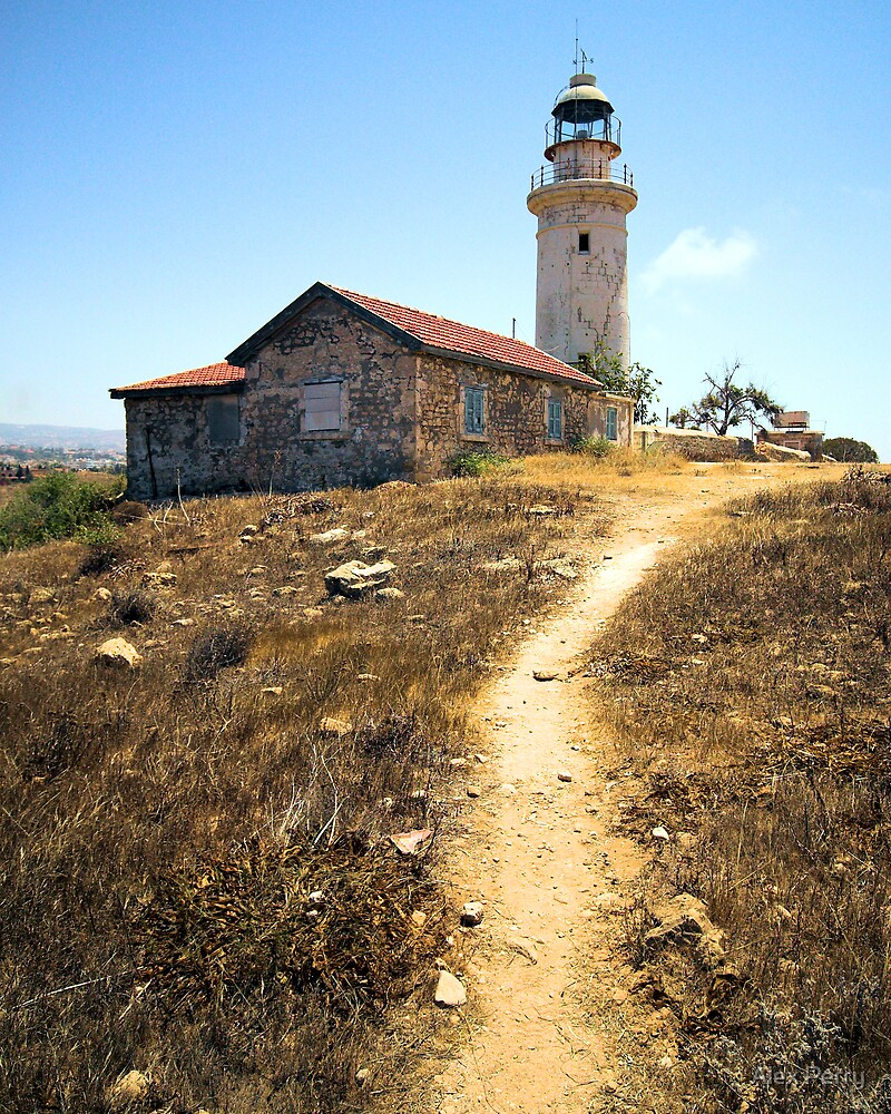 Lighthouse Path by Alex Perry