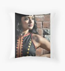 Super Models Pose Throw Pillow