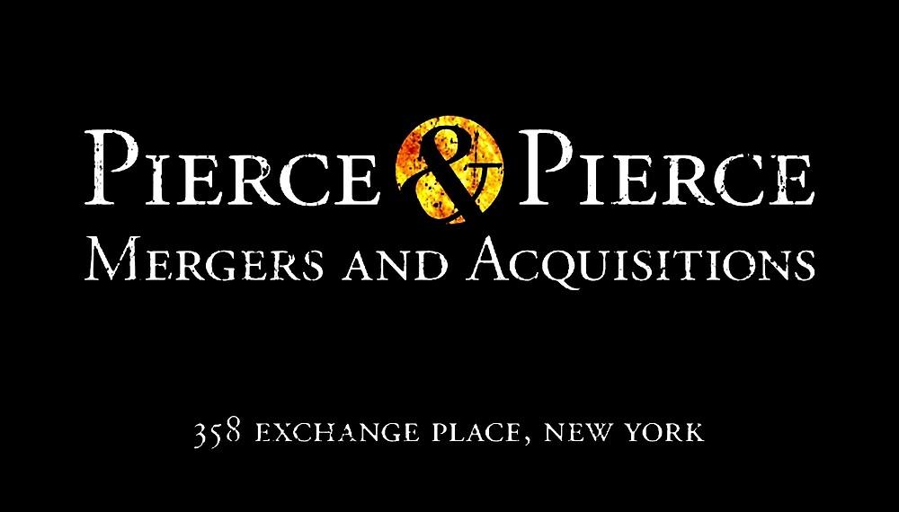 American Psycho - Pierce & Pierce by UnconArt