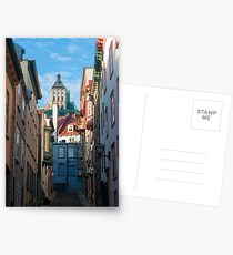 Old Quebec: Early Morning Street Postcards