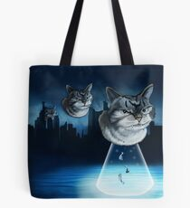 Alien kitten Tote Bag