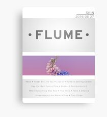 Flume Skin Canvas Print