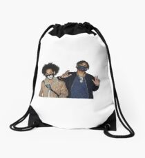 Ayo and Teo Shirt Drawstring Bag