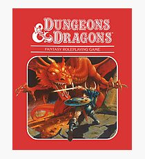 AD&D/Dungeons and Dragons Logo Photographic Print