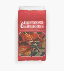 AD&D/Dungeons and Dragons Logo Duvet Cover