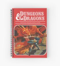 AD&D/Dungeons and Dragons Logo Spiral Notebook