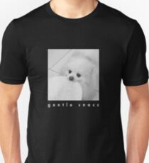 Gentle Snacc Tortilla Dog - white text Unisex T-Shirt