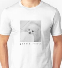 Gentle Snacc Tortilla Dog - black text T-Shirt