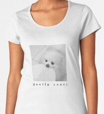 Gentle Snacc Tortilla Dog - black text Women's Premium T-Shirt