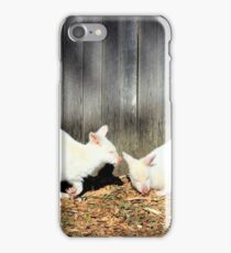 White Wallabies iPhone Case/Skin