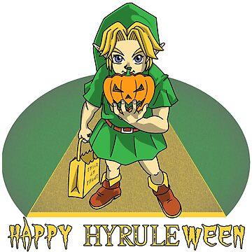 Happy Hyrule-ween! by FraStiller