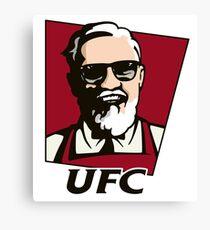 KFC - UFC Canvas Print