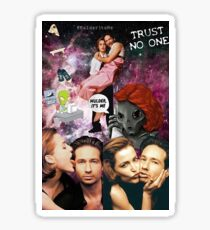 The X-Files: Mulder and Scully Sticker