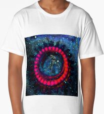 Android Ballerina, Science Fiction Long T-Shirt