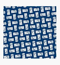 Doctor Who TARDIS Pattern Photographic Print