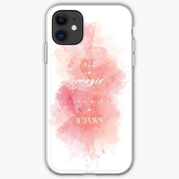 A L L - M A G I C - C O M E S - W I T H - A - P R I C E iPhone Soft Case