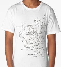 Yoga Manuscript Long T-Shirt