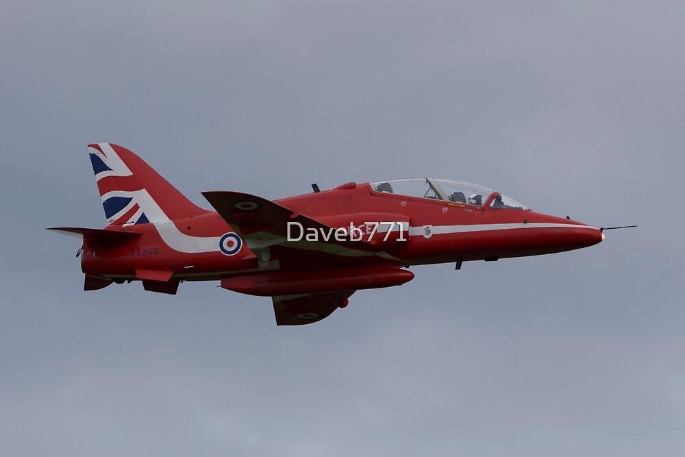 Raf Red Arrows Hawk T1 by Daveb771
