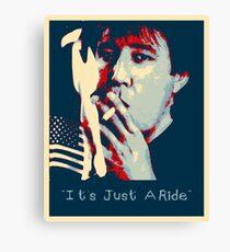 Bill Hicks - It's Just A Ride Canvas Print