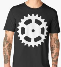 Cog and Roll (white) Men's Premium T-Shirt