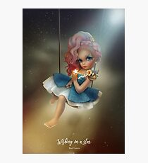 Wishing on a Star  Photographic Print