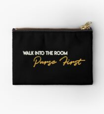 Walk into the room, purse first Studio Pouch
