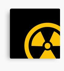 Yellow Radioactive Canvas Print